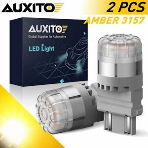 Auxito Amber 3157 Led Turn Signal Lights For Chevrolet Silverado 1500 1999 2013