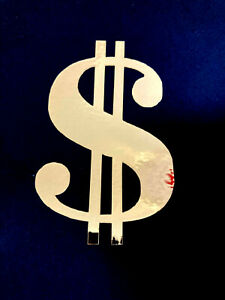 Dollar Sign Symbol Currency Vinyl Sticker Decal Money Stickers