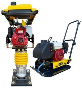 Honda Tamper Rammer And Plate Compactor Combo Epa Jumping Jack 3 Year