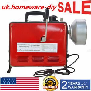 3 4 6 Sewage Electric Spiral Pipe Drain Cleaner Pipe Sewer Cleaning Machine