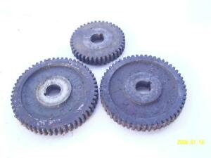Southbend 9 In Lathe Change Gears 3 Pcs