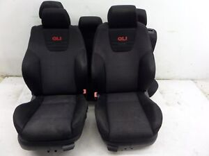 Vw Jetta Gli 20th 20ae Recaro Seats Mk4 00 05 Oem