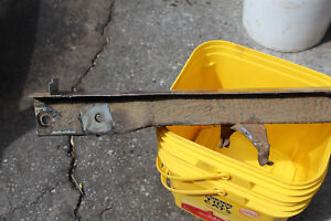 Volvo 123gt P120 P130 Rear Bumper Support Channel For Right Side Perfect