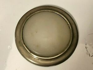 1920 S 30 S Early Vintage Auto Interior Light Dome Lamp Bezel Glass Lens Old Car