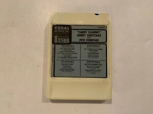 Pete Fountain - Candy Clarinet - RARE Lear Jet Pak Stereo Eight 8 Track Tape