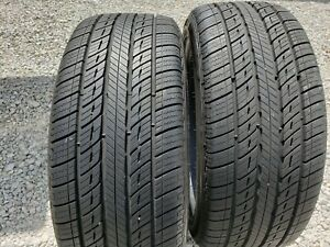 Two 245 45 20 Uniroyal Tiger Paw Touring A s 245 45r20 99v Tires 90 Tread