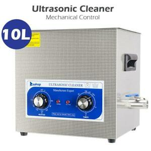 10l Stainless Steel Ultrasonic Cleaner Jewelry Cleaning Machine Good Condition
