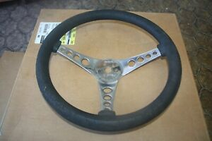 Superior Performance Products The 500 Steering Wheel Black Foam Rubber 14