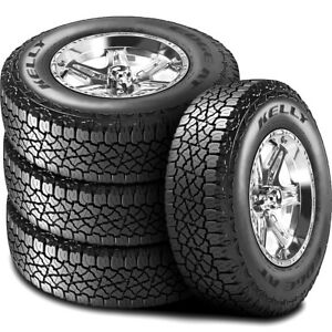 4 New Kelly goodyear Edge A t 275 60r20 115s At All Terrain Tires