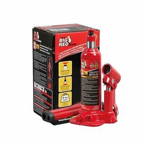 Big Red Torin Hydraulic Welded Bottle Jack 2 Ton 4 000 Lb Capacity High Quality