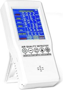 Yvelines Hto 131 Indoor Air Quality Monitor Accurate Tester Co2 Formaldehyde
