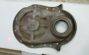 Genuine Chevy 396 427 454 Gm Timing Cover Bbc No Timing Tab With Dowel Holes