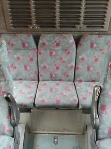 Used City Bus Seats Great Condition Low Wear No Stains Arm And Foot Rest