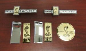 1967 Shelby Gt350 New Exterior Emblem Set
