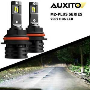 Auxito 9007 Hb5 Led Headlight Bulb Lamp High Low Beam Super Bright Kit Canbus M2