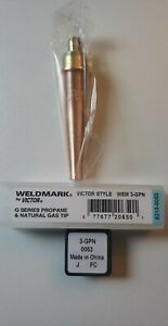 Weldingcity Propane natural Gas Cutting Tip 3 gpn Victor Torch Us Seller Fast