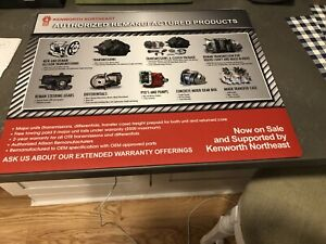 Kenworth Northeast Authorized Producrs Point Of Sale Counter Place Mat 20 X 16