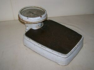 Beautiful Old Bathroom Scale Physician Scale Antique Hannovera Libra