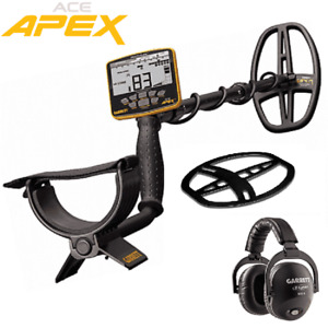 Garrett Ace Apex Metal Detector W Z lynk Wireless Headphone Package