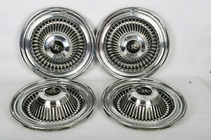 Factory 1964 Buick Riviera 15 Inch Hubcaps Wheel Covers