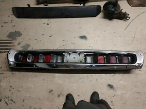 Mopar 71 2 Charger Rt Rallye Tail Lights Bumper Nice Nice 440 Hemi Hard 2 Find
