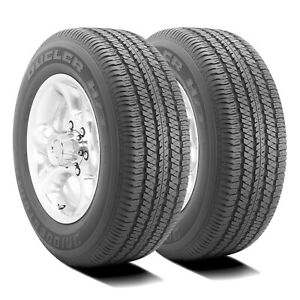 2 New Bridgestone Dueler H T 684 Ii 265 70r17 113s Dealer Take Offs New Tires