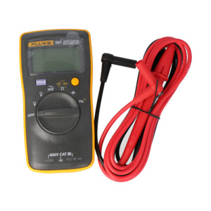 stock In Us Fluke 101 Basic Digital Multimeter Portable Meter Acdc Volt Tester