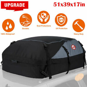 Sailnovo Car Roof Top Cargo Carrier Bag Rack Waterproof Storage Luggage Durable