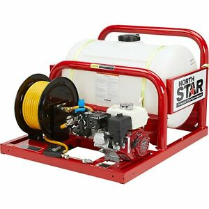 Northstar Pest Control Skid Sprayer 55 gal Tank Honda Gx160 Engine 268173