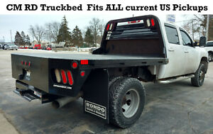 New Cm Rd Flatbed Truck Body Fits All Makes Long Bed Dually Pickup Video 244951
