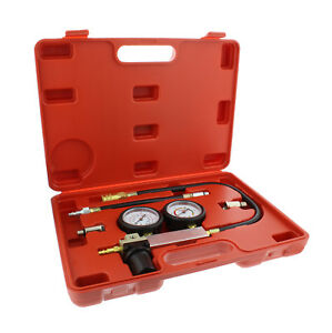 Abn Cylinder Leak Detector Engine Compression Tester Kit Leakage Test Set