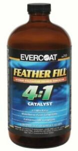 Fiberglass Evercoat 733 4 1 Std Polyester Primer Catalyst 1 Quart