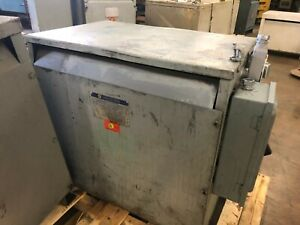 75 Kva Square D Transformer Step Up Or Down Dry Type