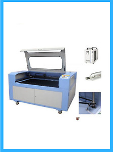 51 X 35 1390 Co2 Laser Cutter With Reci S4 Laser And Electric Lift Table