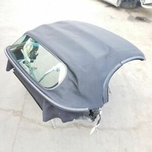 Porsche Boxster 987 Convertible Top Roof Soft Top Black 00004320742a10