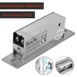 Electric Strike Lock Electric Double Unlock Narrow type For Access Control Home