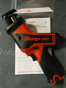 Snap on ctrs761 lithium ion 14 4 volt Cordless Reciprocating Saw tool Only new