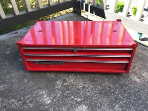 Snap On Tool Box Kra 429d Mid Box Very Good Condition 3 Drawer W Key