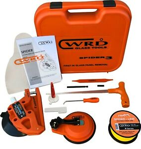 Wrd Spider 3 Kit 300w Auto Glass Wire Removal Tool Kit Easy Remove Windshield