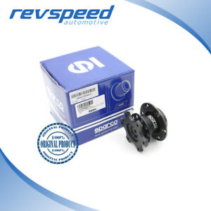 Sparco Genuine Wheel Snap Off Quick Release Tuning Black New 015r98tu