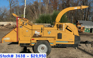 5 Morbark Beever M15r s And Tornado 15 Wood Chippers For Sale