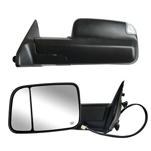 Towing Mirrors For 2015 2020 Ford F150 Pickup Power Heated Signal Sensor 8 Pin