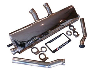 Top Speed Pro 1 Rear Exhaust For 2011 14 Porsche Cayenne Base S Gts Turbo