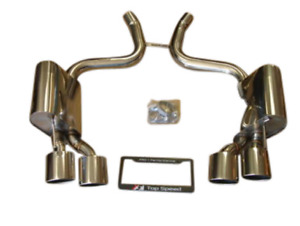 Top Speed Pro 1 Exhaust For 2003 08 Mercedes Benz Sl55 Amg 2009 12 Sl63 Amg