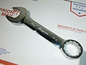 Snap On Tools Oex420b Sae 1 5 16 Flank Drive Short Combination Wrench Vgc