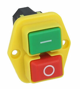 On Off Switch Fits Belle Cement Mixer Minimix 150 230v May 2007 Onwards
