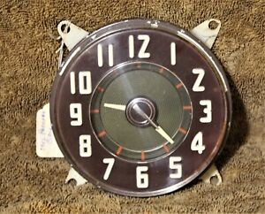 1940s 1942 1946 1947 Packard Dashboard Clock Ex Condition Nos By Borg Co