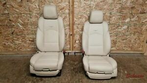 2019 Cadillac Cts Front Bucket Seat Set Left And Right 1948689