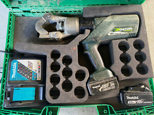 Greenlee Gator Ek12idl 12 Ton Dieless Hydraulic Battery Li ion Crimping Tool