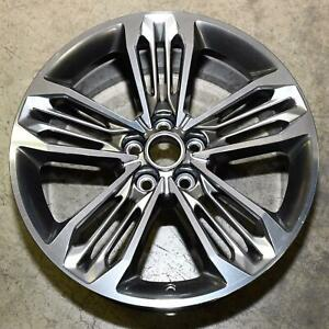 84079040 Polished Aluminum 10 Spoke 20x8 5 Inch Oem Wheel 2016 19 Cadillac Ct6